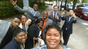 CCJI-Atlanta interns take a selfie